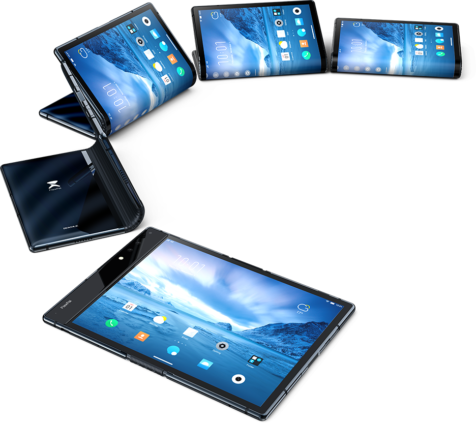 Overview | FlexPai Foldable Smartphone - Royole Corporation