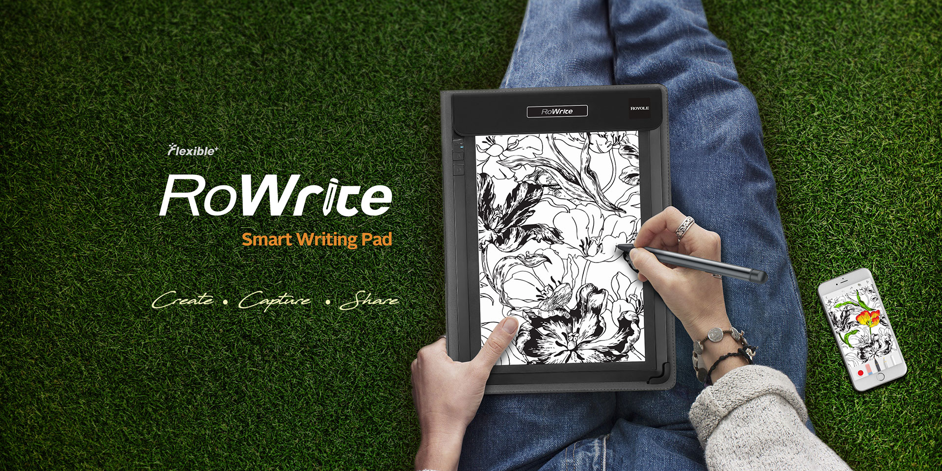 RoWrite Smart Writing Pad - Royole Corporation